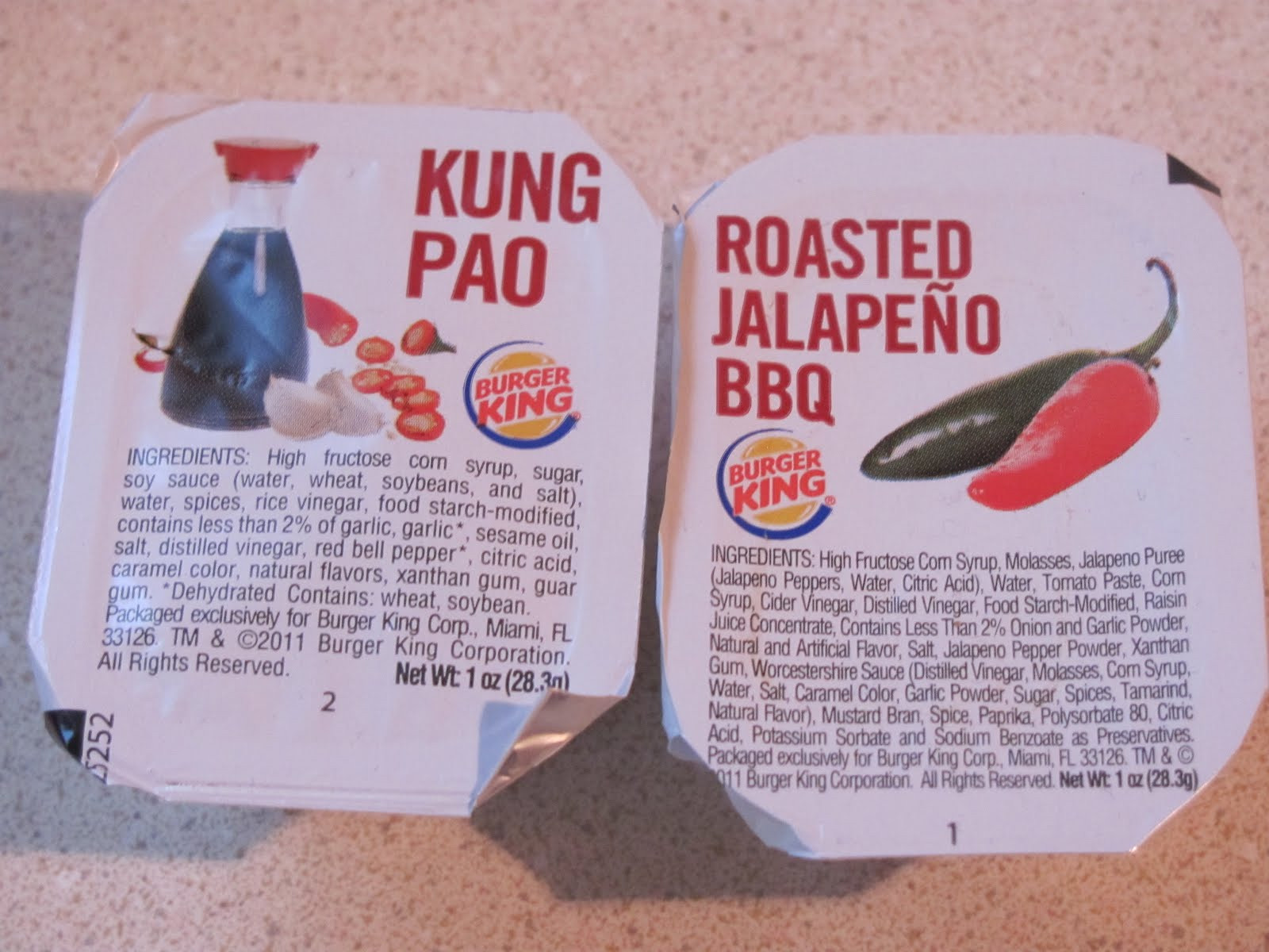 Burger King Dipping Sauces  burger king sauces