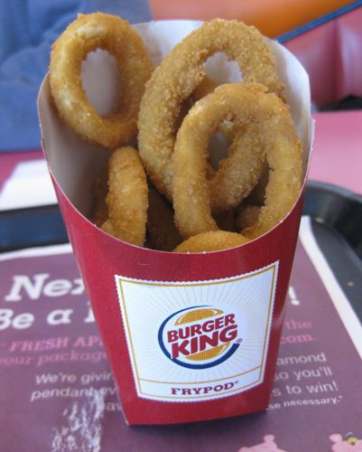 Burger King Onion Ring Sauce  GrubGrade