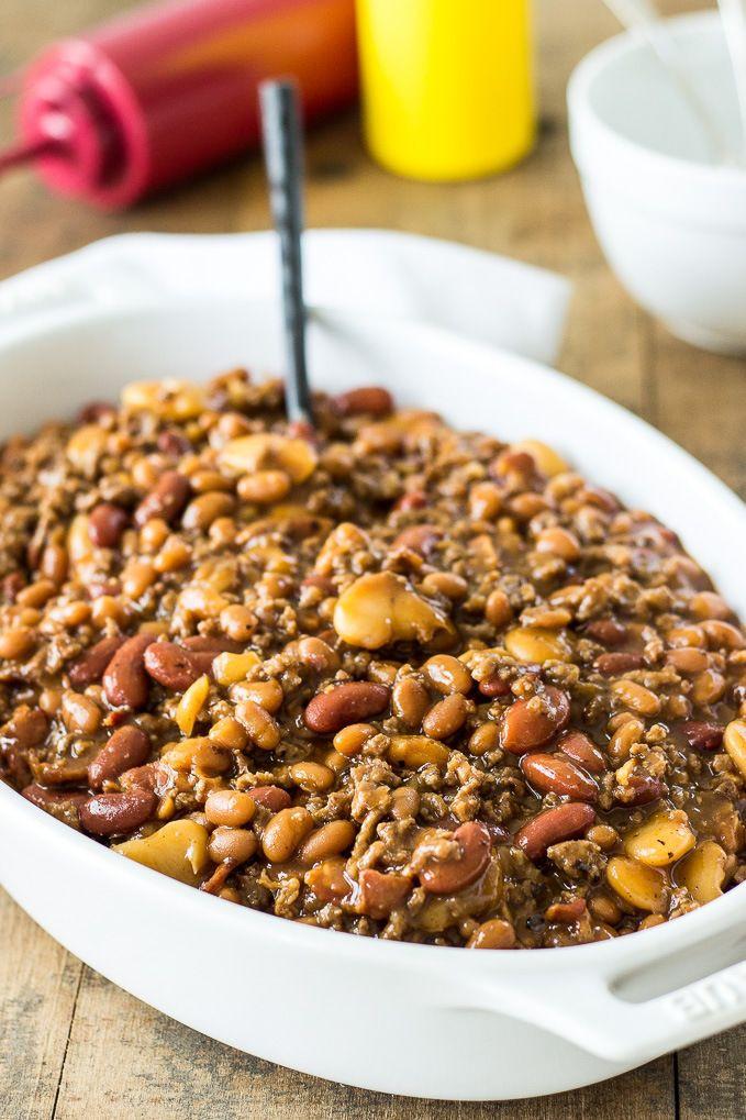 Bush'S Baked Beans With Ground Beef  Best 25 Baked bean casserole ideas on Pinterest