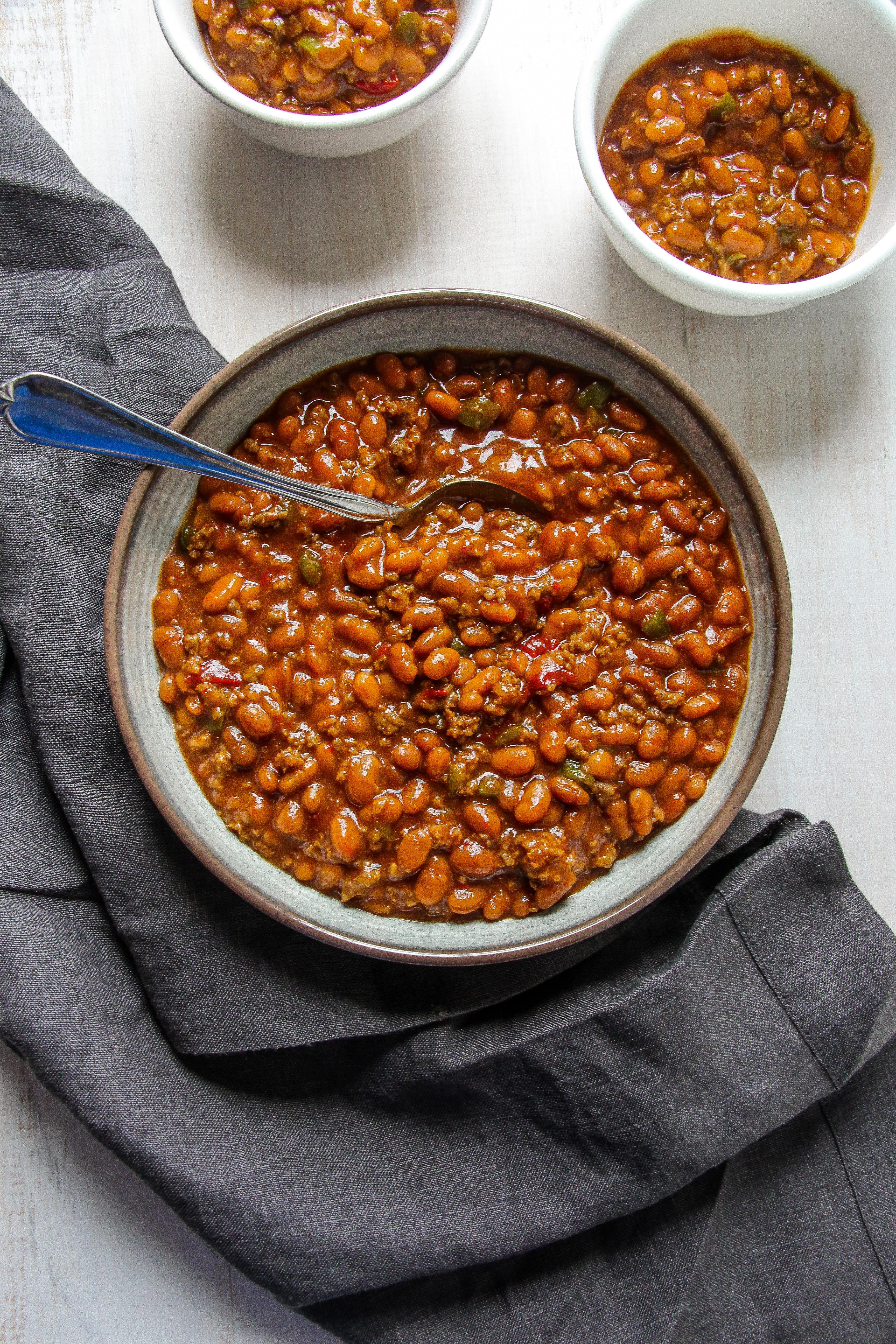 Bush'S Baked Beans With Ground Beef  bush s baked beans with ground beef