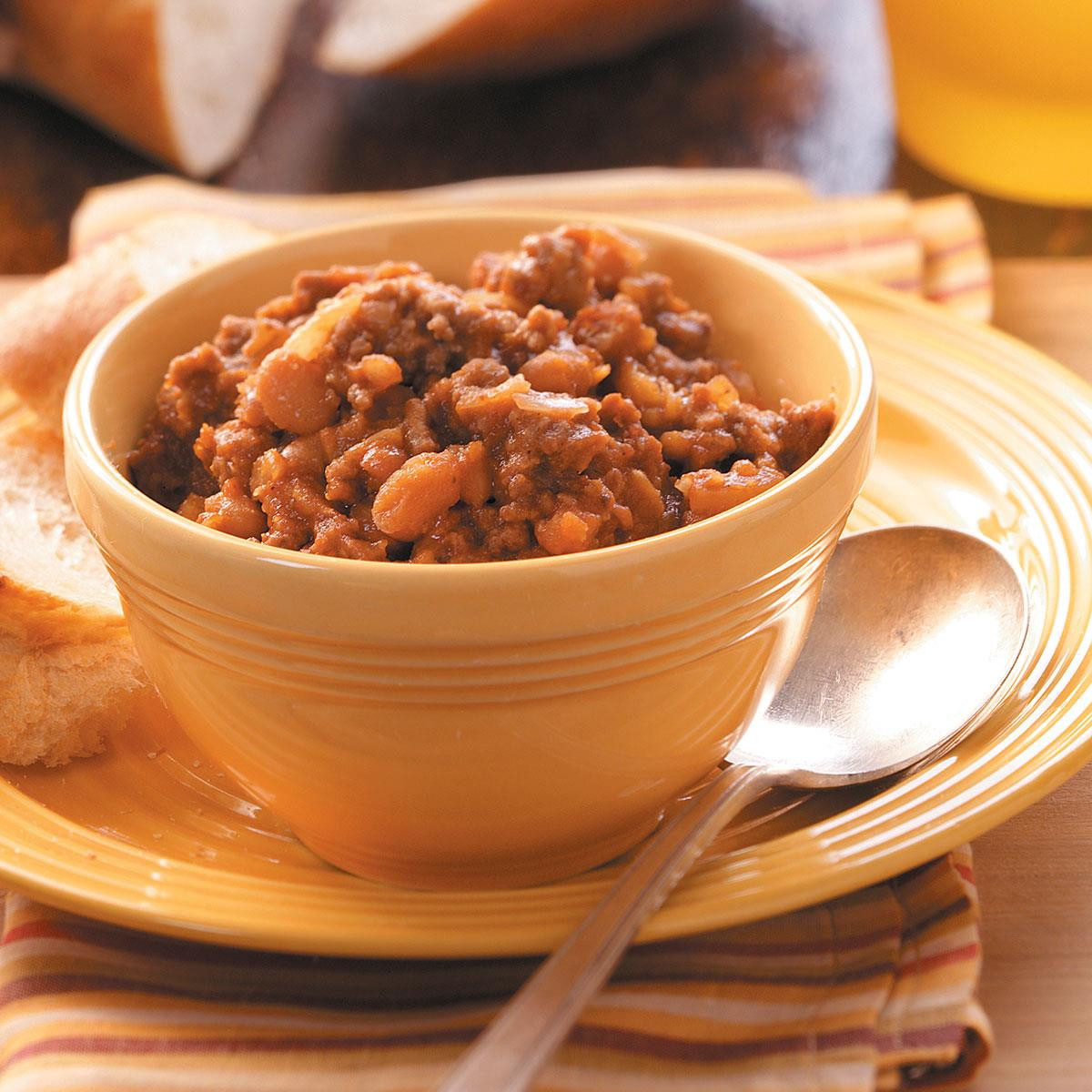 Bush'S Baked Beans With Ground Beef  Ground Beef Baked Beans Recipe