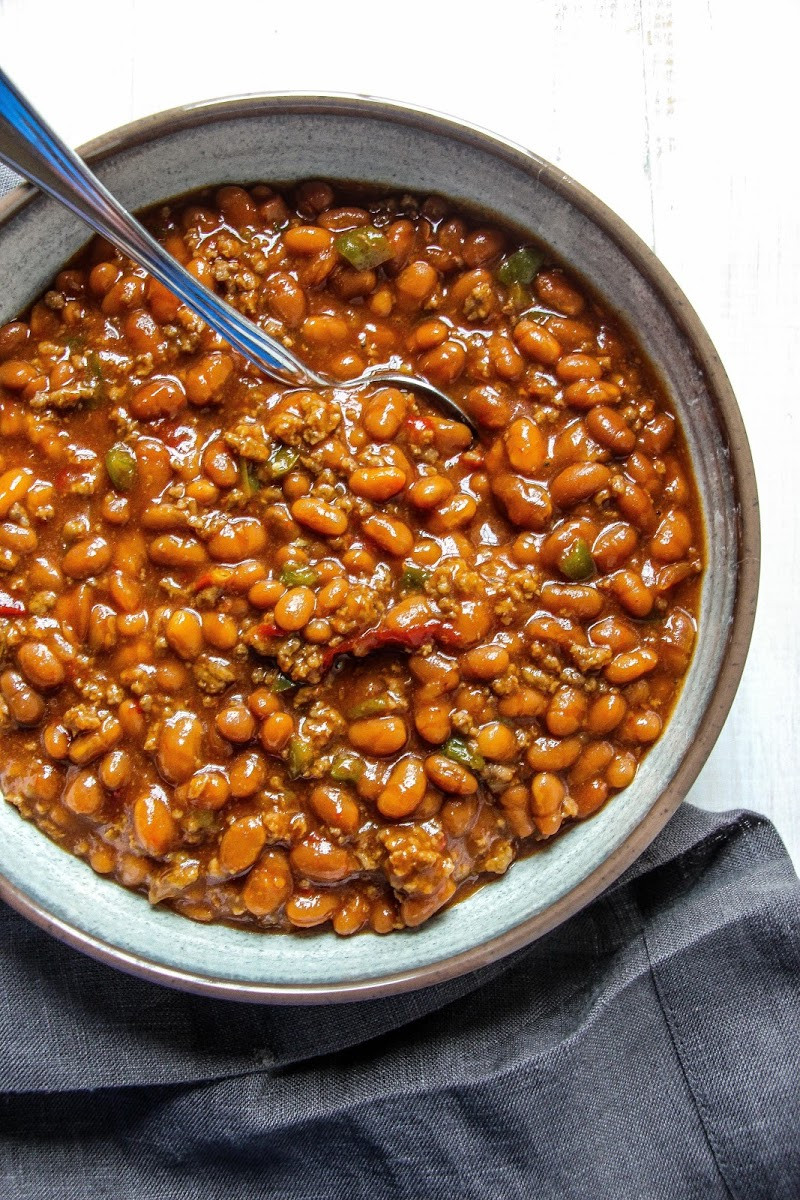 Bush'S Baked Beans With Ground Beef  10 Best Southern Baked Beans Ground Beef Recipes