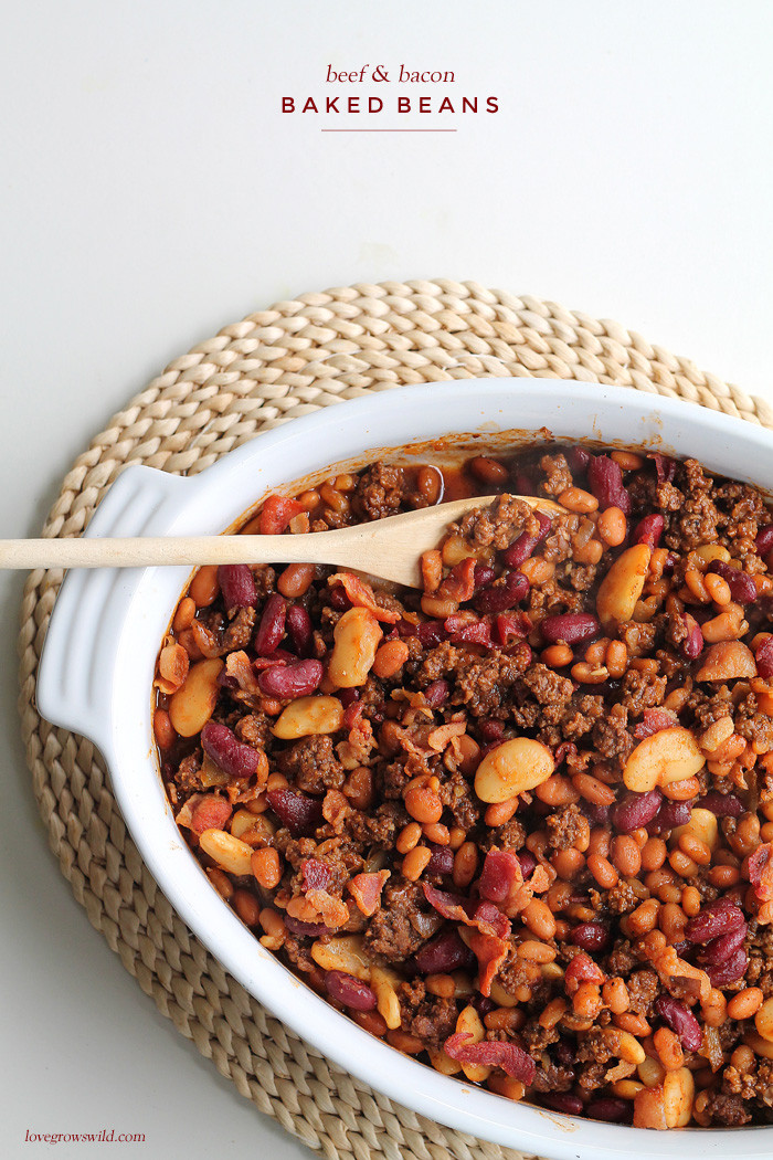Bush'S Baked Beans With Ground Beef  10 Best Baked Beans Ground Beef Bacon Recipes