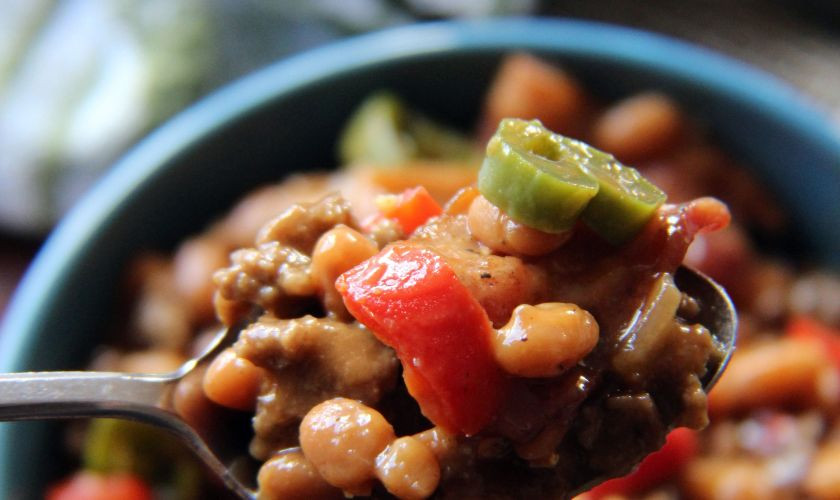 Bush'S Baked Beans With Ground Beef  4th of July