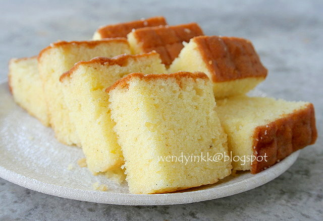 Butter Cake Recipes  Table for 2 or more Mrs NgSK s Butter Cake Butter