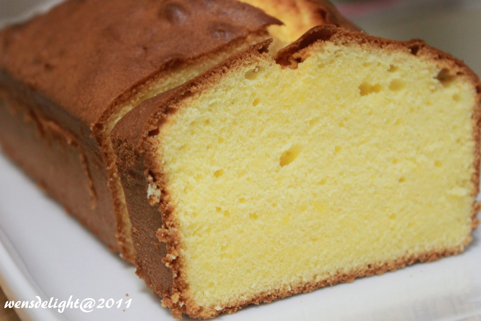 Butter Cake Recipes  Wen s Delight Old Fashioned Butter Cake