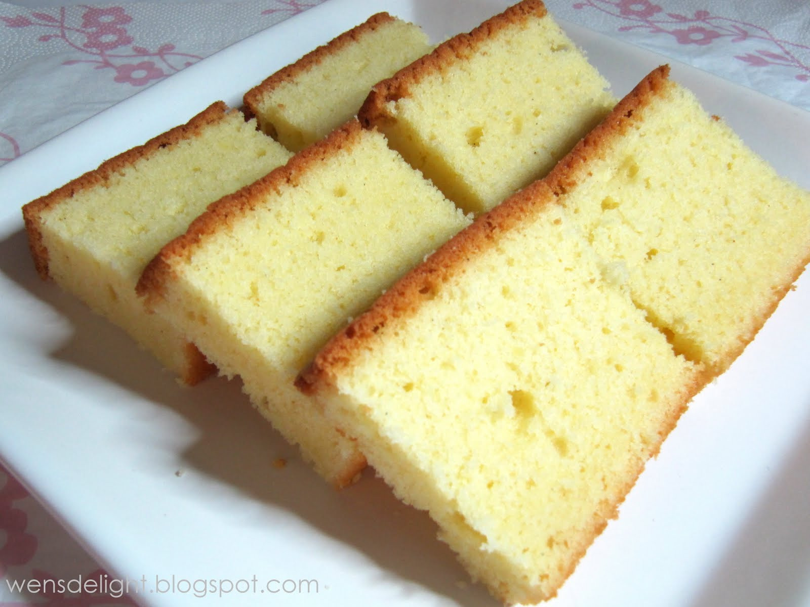 Butter Cake Recipes  Wen s Delight A Nice Butter Cake Recipe