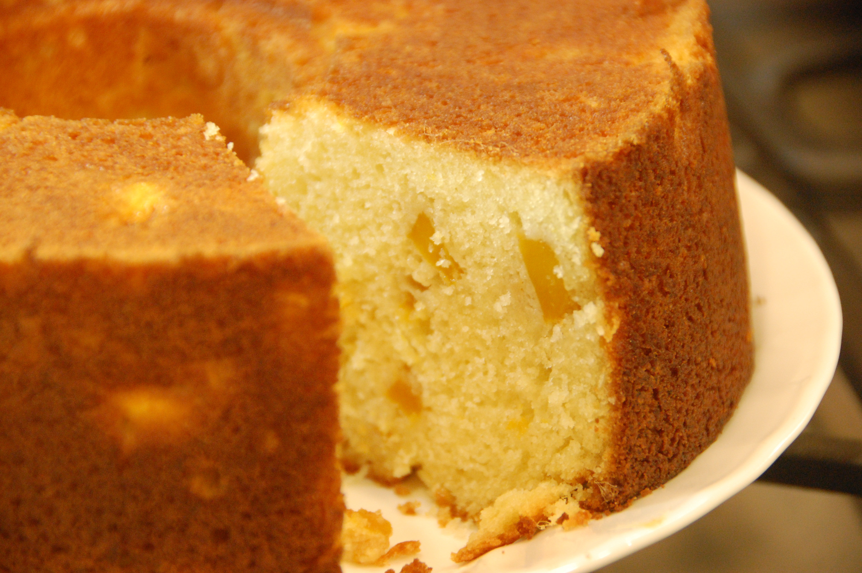 Butter Cake Recipes  Mango Butter Cake Adding fruit to a basic butter cake