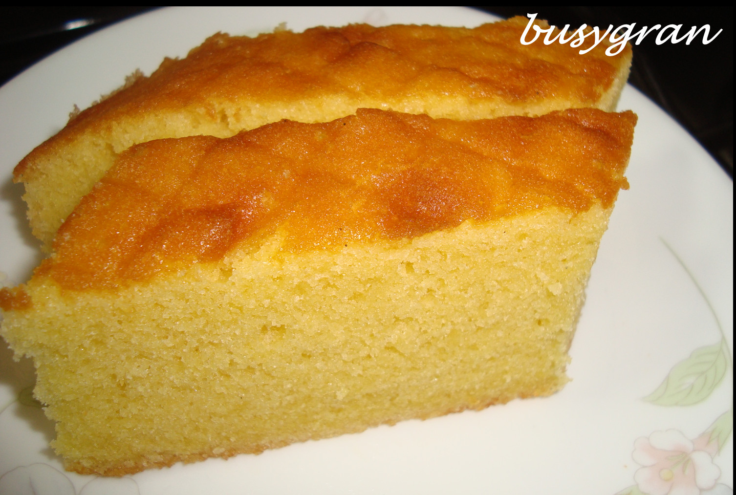 Butter Cake Recipes  A Busy Gran s Kitchen Another Butter Cake