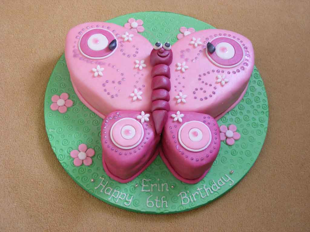 Butterfly Birthday Cake  Butterfly Cakes – Decoration Ideas