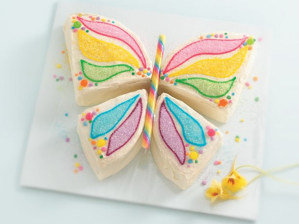 Butterfly Birthday Cake  Butterfly Cake recipe from Betty Crocker