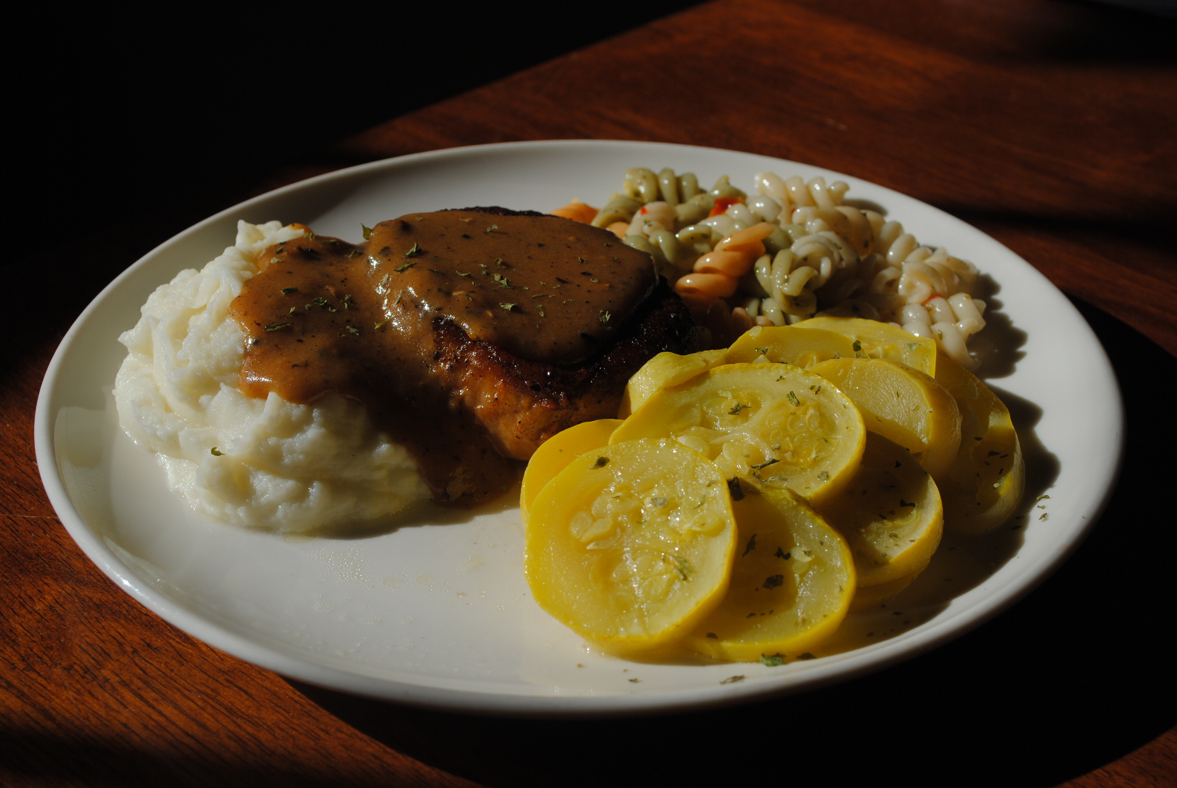 Butterfly Pork Chops  Marion s Butterfly Pork Chops and Gravy