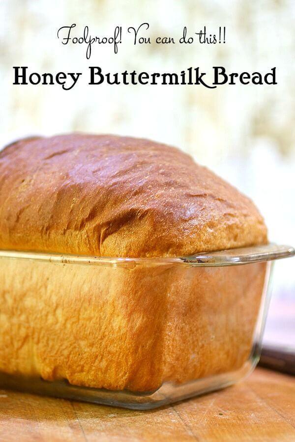 Buttermilk Bread Recipe  Homemade Honey Buttermilk Bread Recipe