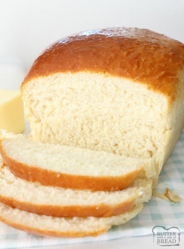 Buttermilk Bread Recipe  HOMEMADE BUTTERMILK BREAD Butter with a Side of Bread