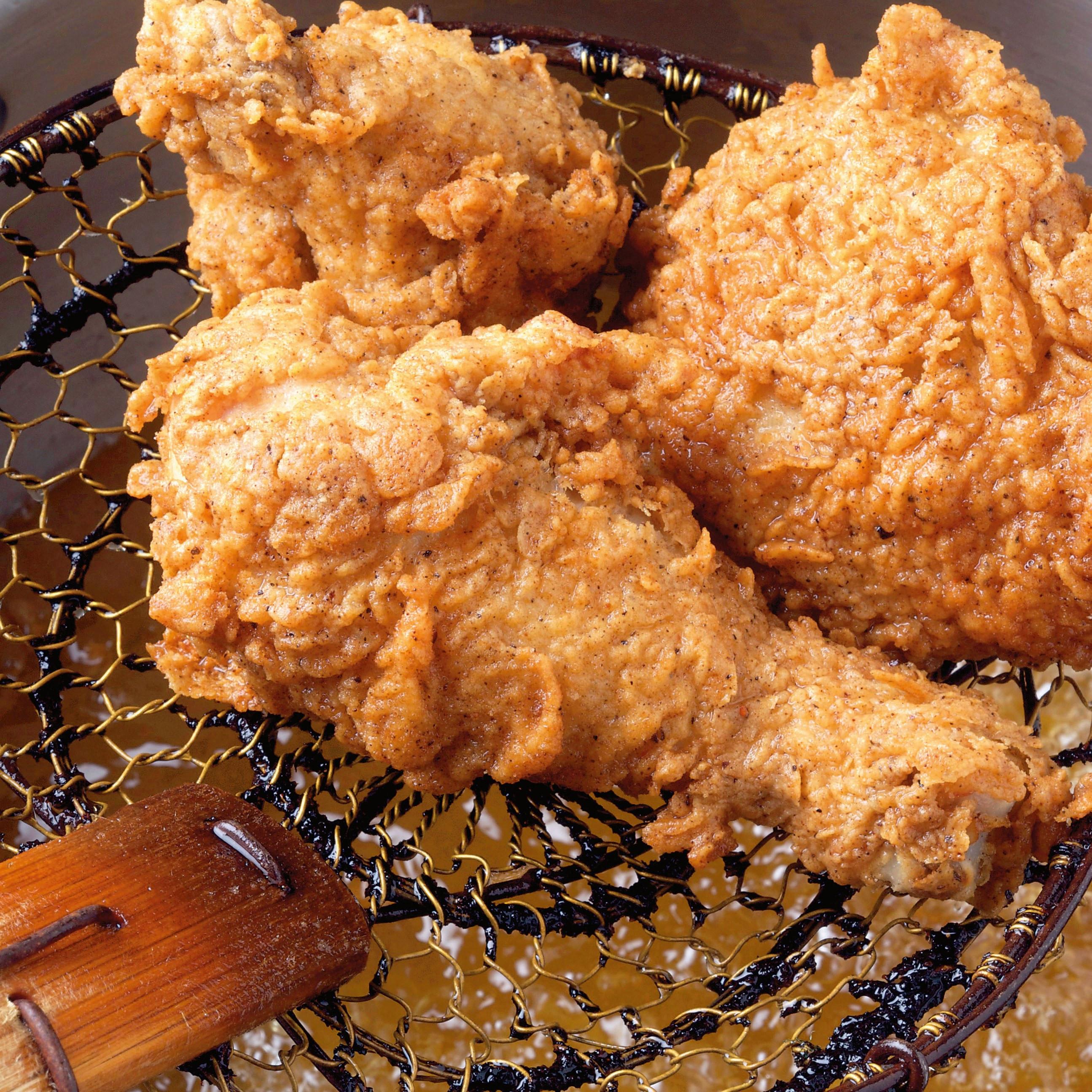 Buttermilk Fried Chicken Recipe  Rosemary Brined Buttermilk Fried Chicken recipe