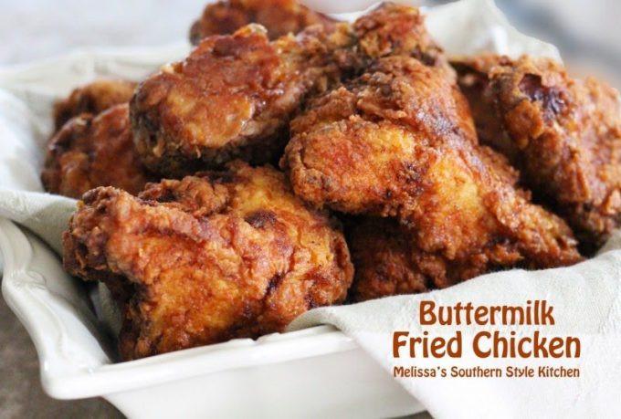 Buttermilk Fried Chicken Recipe  Buttermilk Fried Chicken melissassouthernstylekitchen