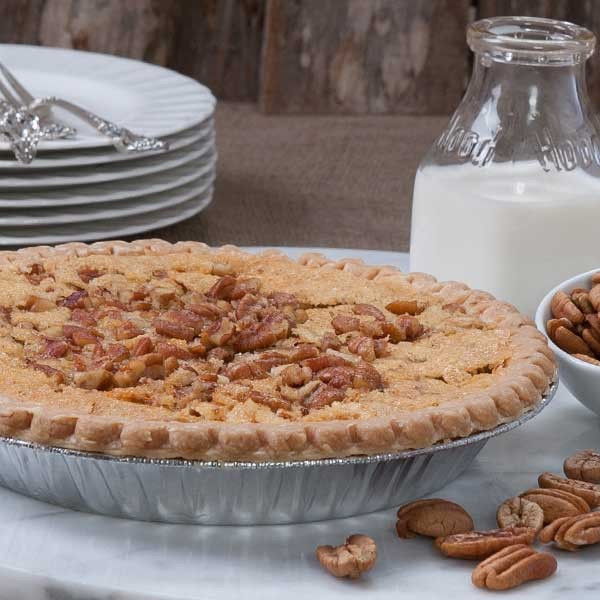 Buttermilk Pecan Pie  buttermilk pecan pie