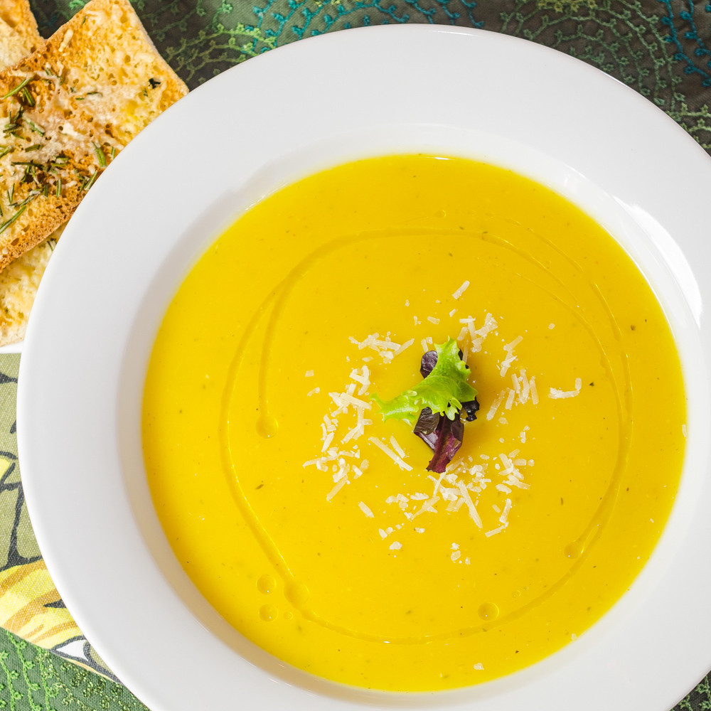 Butternut Squash And Apple Soup  Butternut Squash and Apple Soup Simple Awesome Cooking