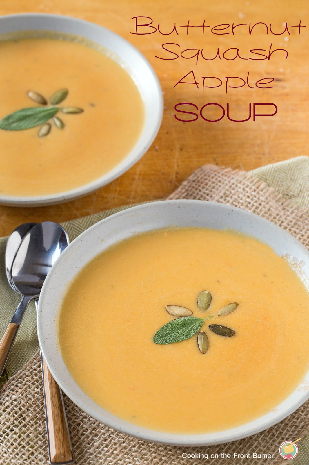 Butternut Squash And Apple Soup  Butternut Squash and Apple Soup