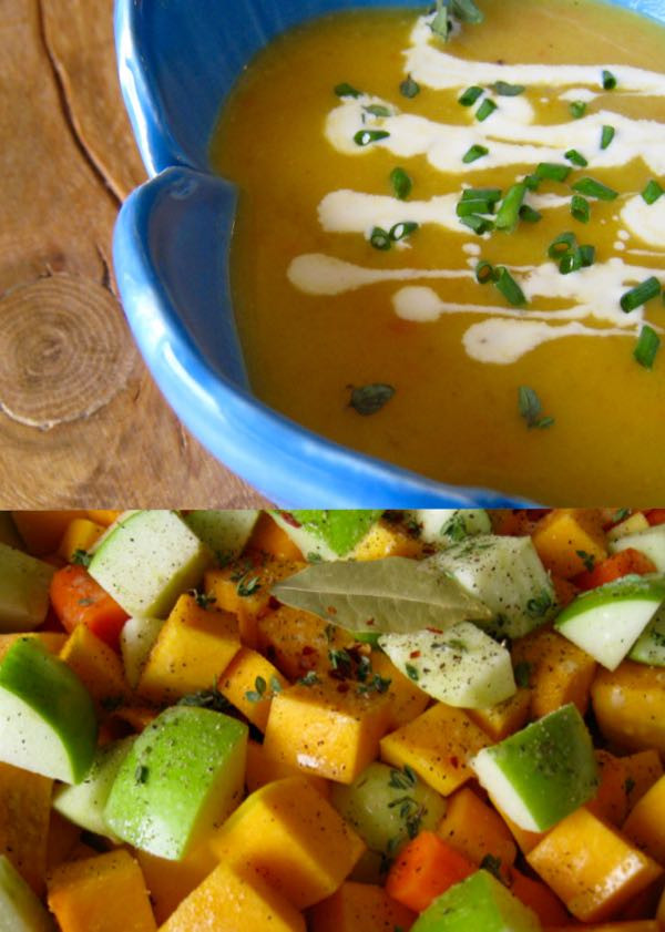 Butternut Squash And Apple Soup  Roasted Butternut Squash Apple Soup • CiaoFlorentina