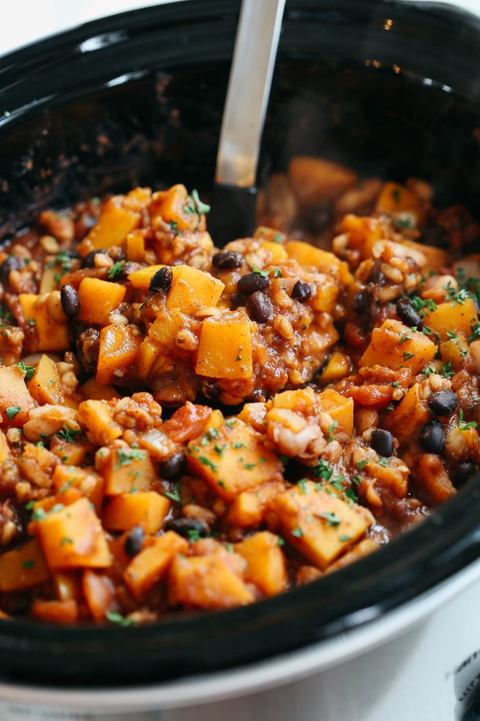 Butternut Squash Chili  Top 10 Favorite Healthy Soup Recipes Eat Yourself Skinny
