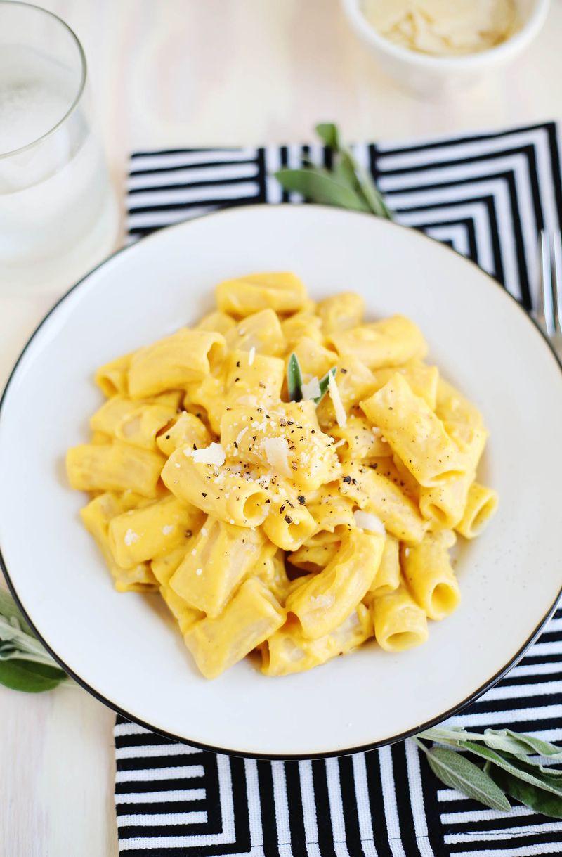 Butternut Squash Pasta  Butternut Squash Pasta – A Beautiful Mess