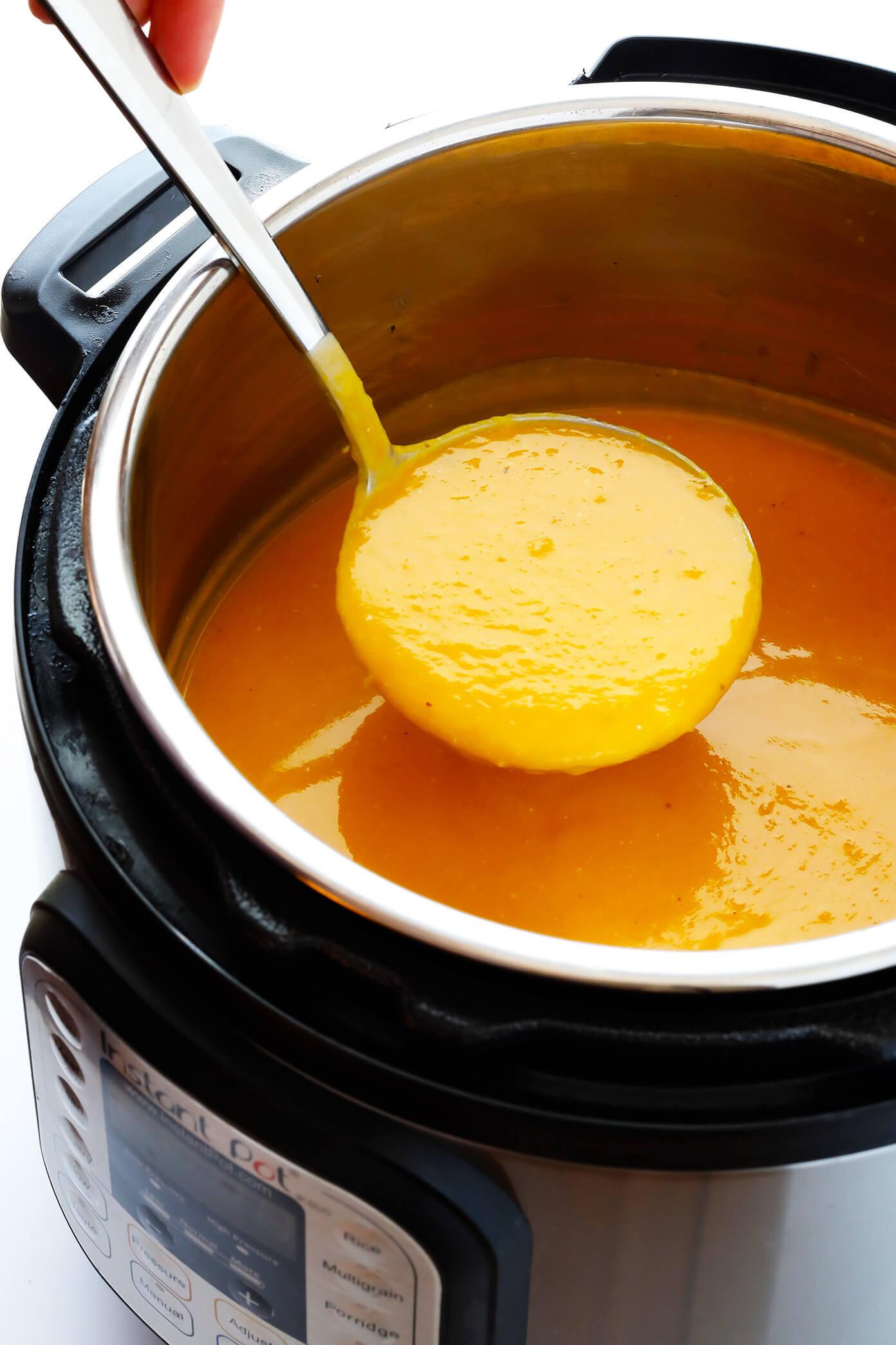 Butternut Squash Soup Instant Pot  Instant Pot Butternut Squash Soup