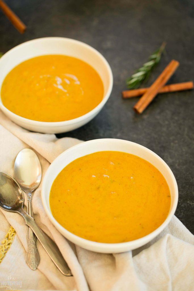 Butternut Squash Soup Vegan  Vegan Butternut Squash Soup Recipe