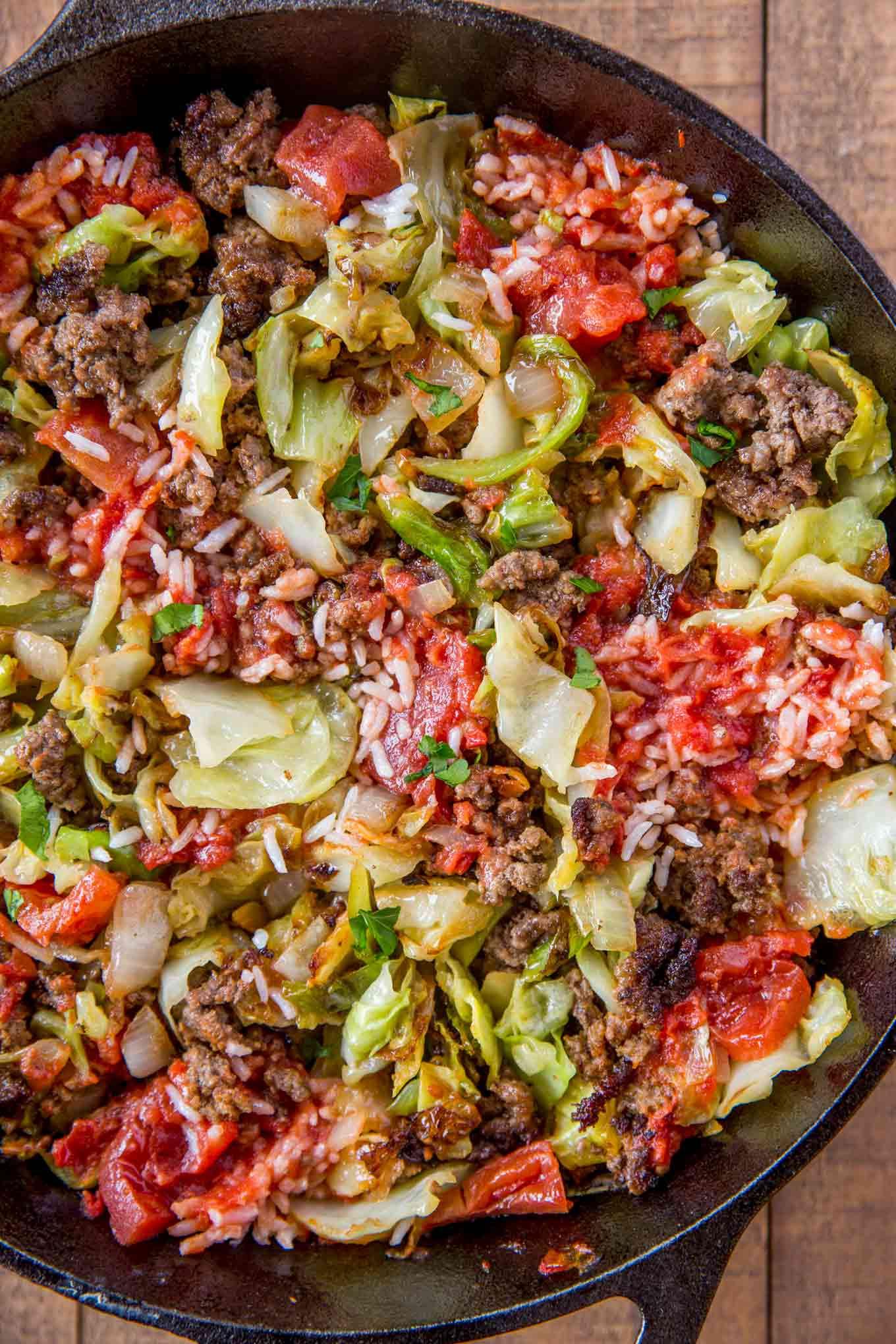 Cabbage Casserole Recipes  Stuffed Cabbage Casserole Dinner then Dessert