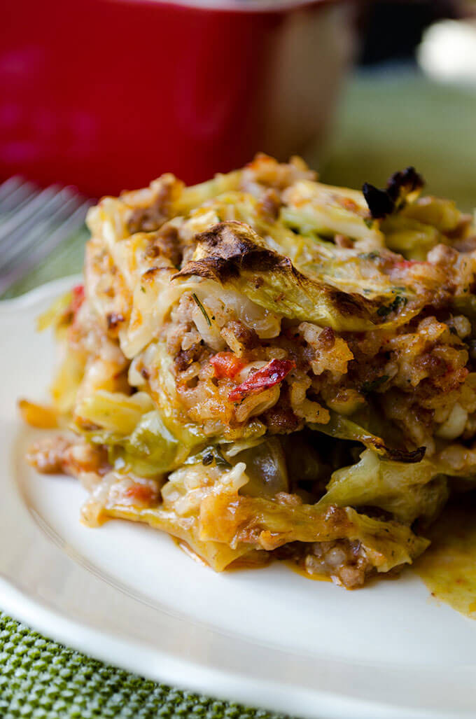 Cabbage Casserole Recipes  Unstuffed Cabbage Casserole [Video] Give Recipe