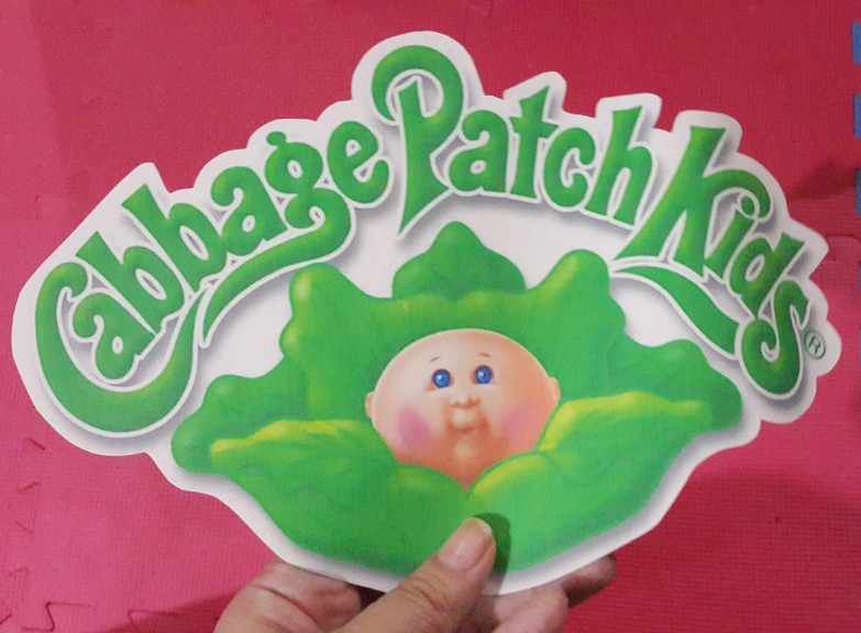 Cabbage Patch Kids Logo  LecksTalkAboutKids Halloween Costume Cabbage Patch Kid