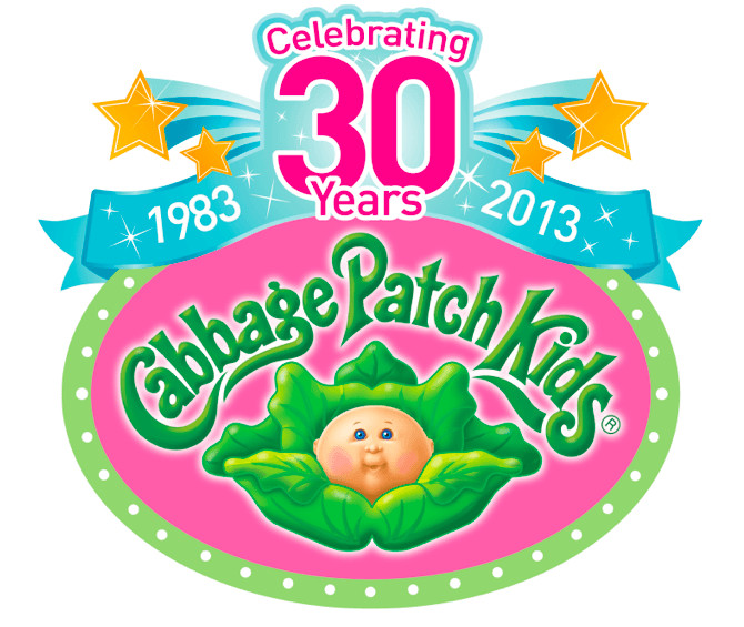 "Cabbage Patch Kids Logo  Cabbage Patch Kids ""Fun to Feed"" Baby Review Cori s Cozy"