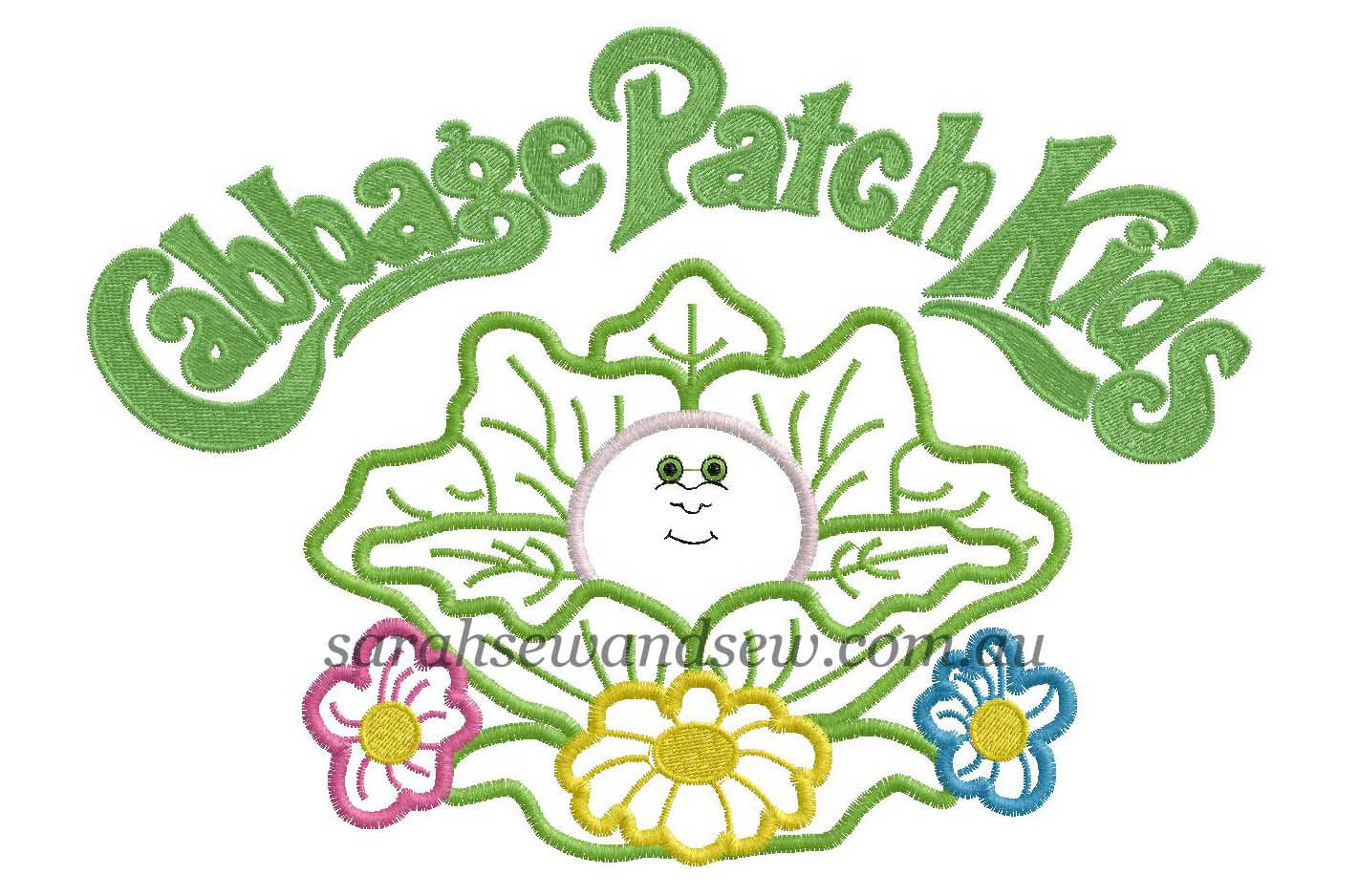 Cabbage Patch Kids Logo  Cabbage patch iron on Logos