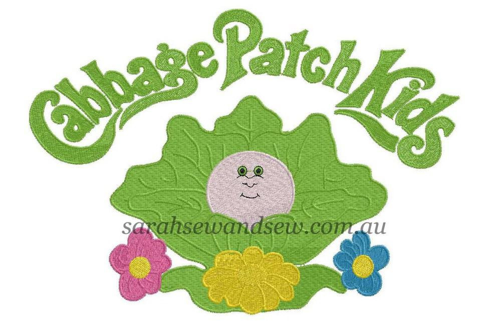 Cabbage Patch Kids Logo  Cabbage Patch Kids Embroidery Design