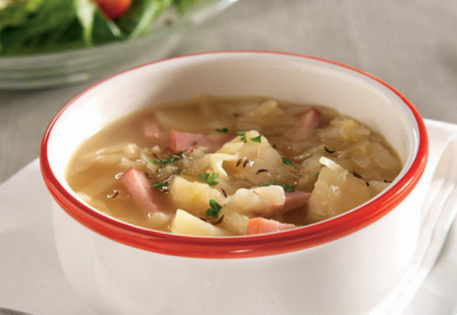 Cabbage Potato Soup  Foodista Recipes Cooking Tips and Food News