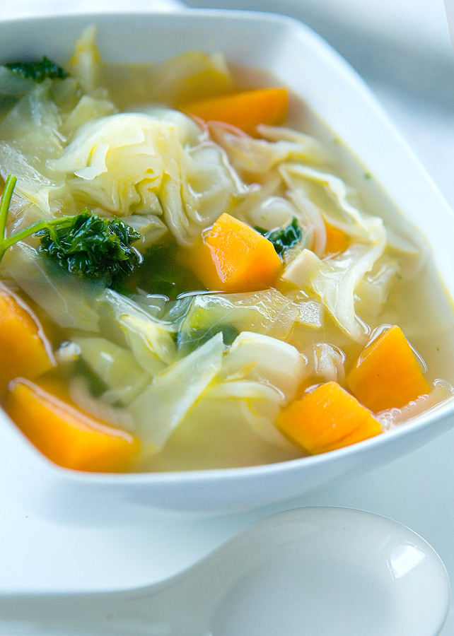 Cabbage Potato Soup  How to Make Cabbage Soup with No Recipe Harvest to Table