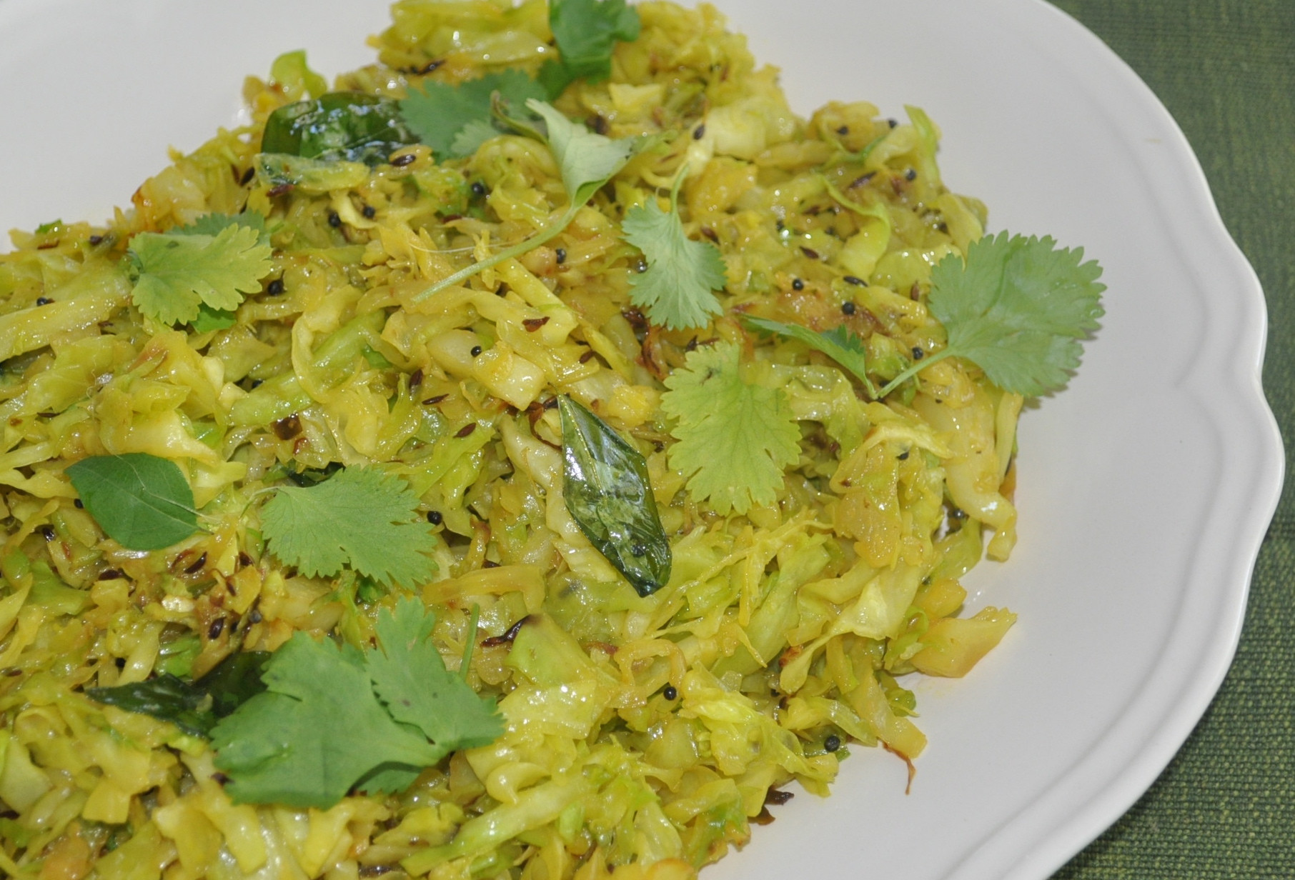 Cabbage Recipes Indian  Quick Indian Style Cabbage