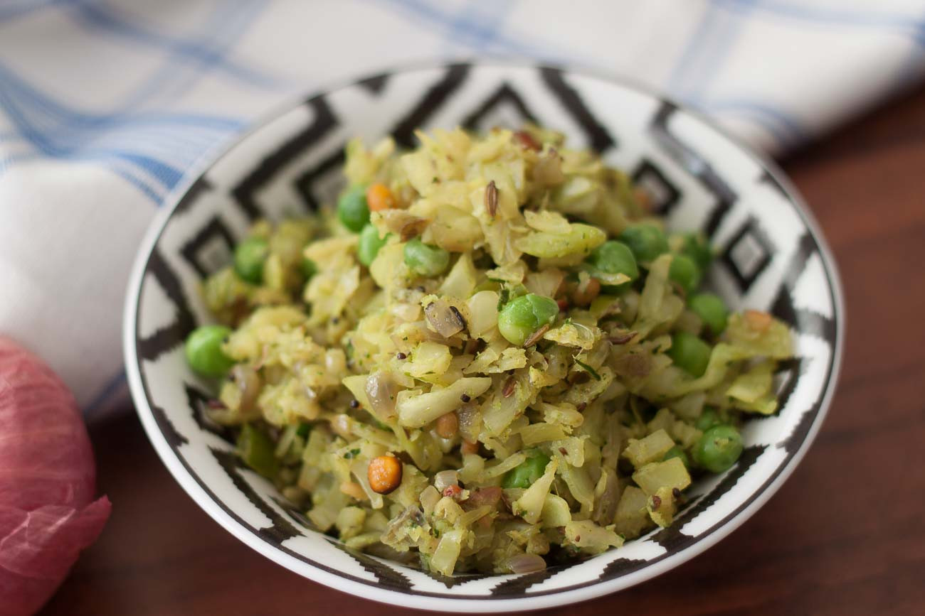 Cabbage Recipes Indian  cabbage sabzi north indian style