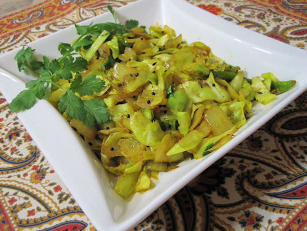 Cabbage Recipes Indian  Spiced Indian Cabbage Recipe Food