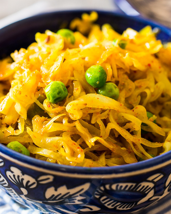 Cabbage Recipes Indian  Indian Fried Cabbage Recipe
