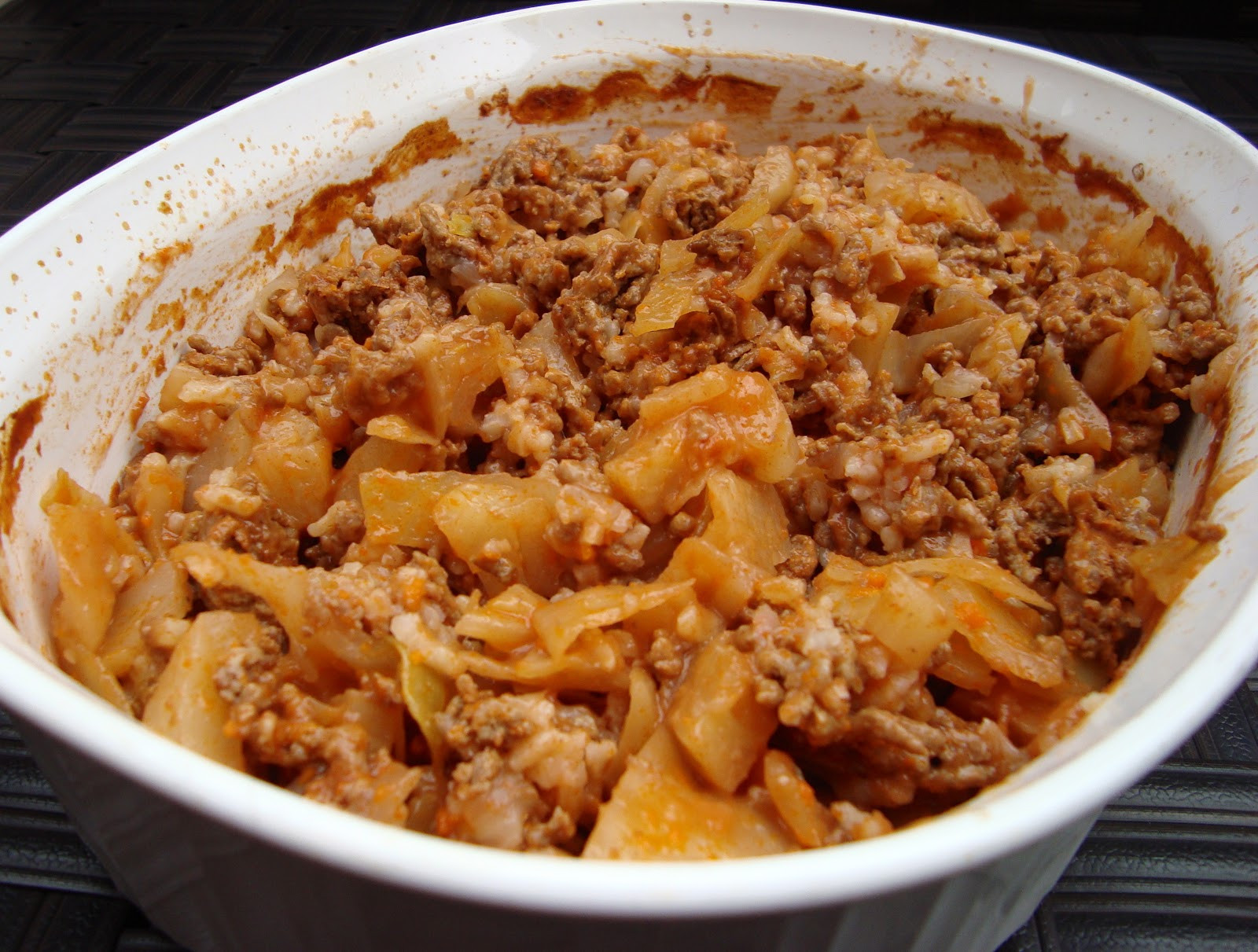 Cabbage Roll Casserole  Caker Cooking Cabbage Roll Casserole