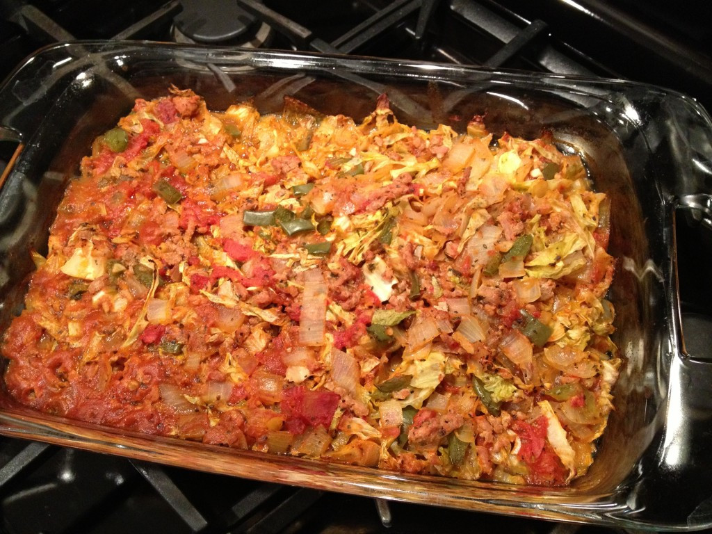 Cabbage Roll Casserole  Cabbage Roll Casserole Give it a Chance