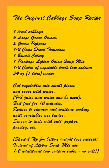 Cabbage Soup Diet Results  cabbage soup t recipe healthy recipes for the cabbage