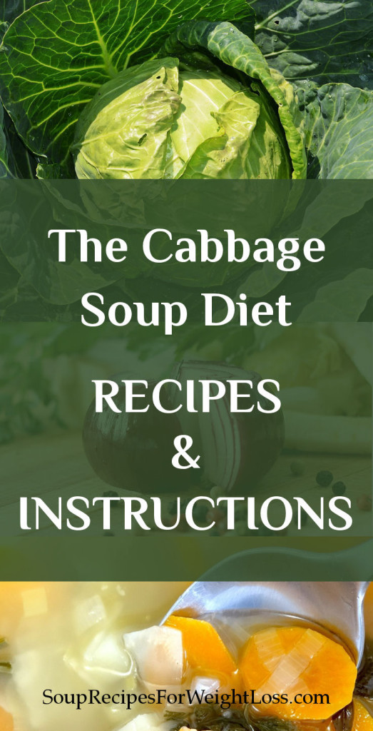 Cabbage Soup Recipe Diet  The Cabbage Soup Diet Recipe and Instruction