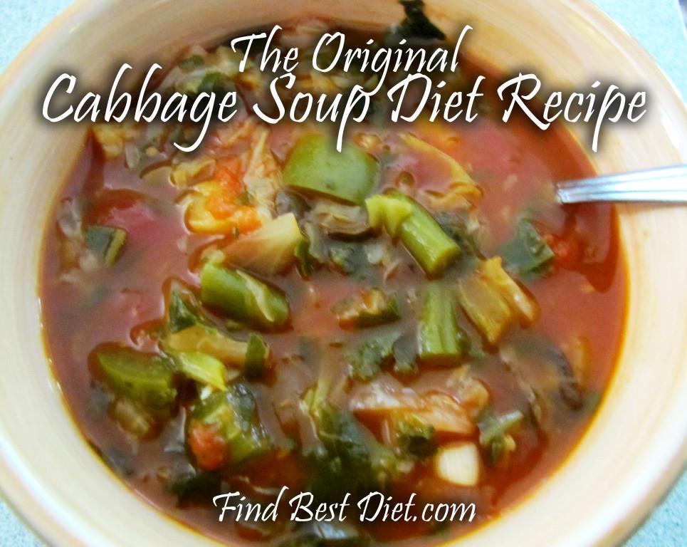 Cabbage Soup Recipe Diet  Cabbage Soup Diet Recipe Find Best Diet