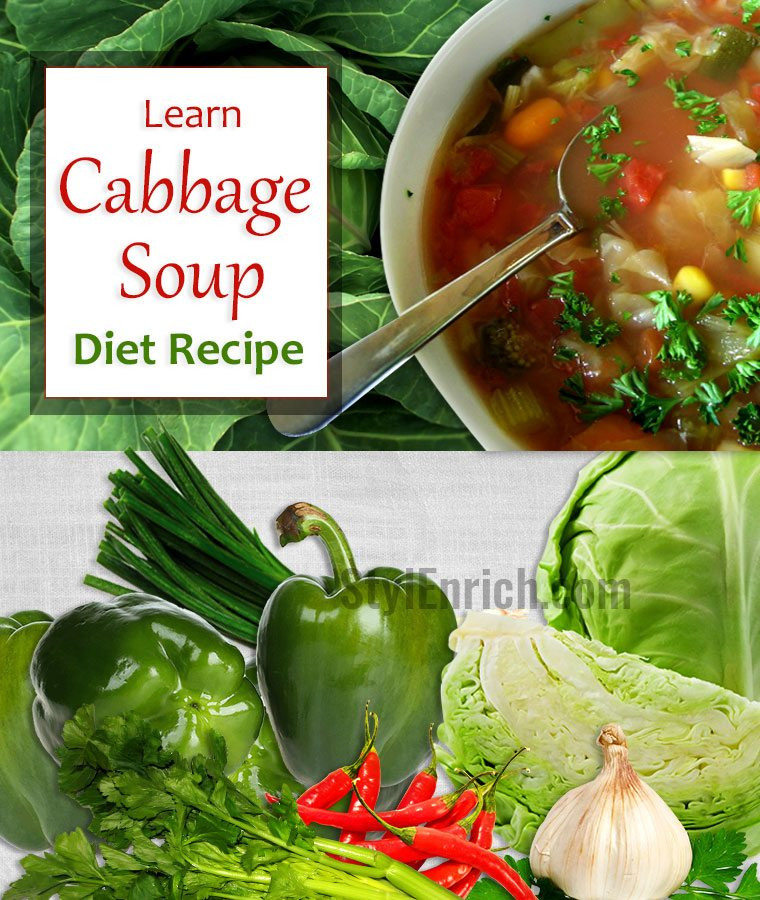 Cabbage Soup Recipe Diet  Cabbage Soup Diet Recipe that You Must Include in Your Food