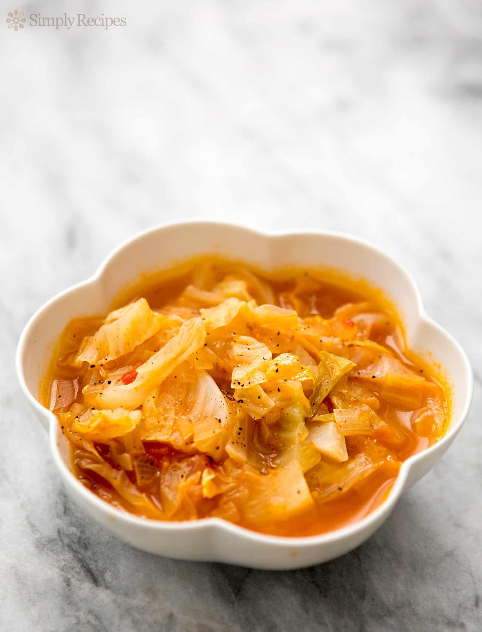 Cabbage Soup Recipe  Cabbage Soup Recipe