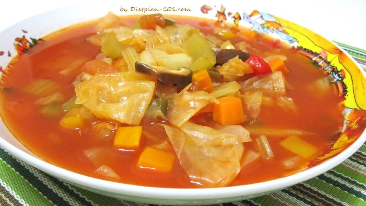 Cabbage Soup Recipe  Original Cabbage Soup Recipe for Cabbage Soup Diet