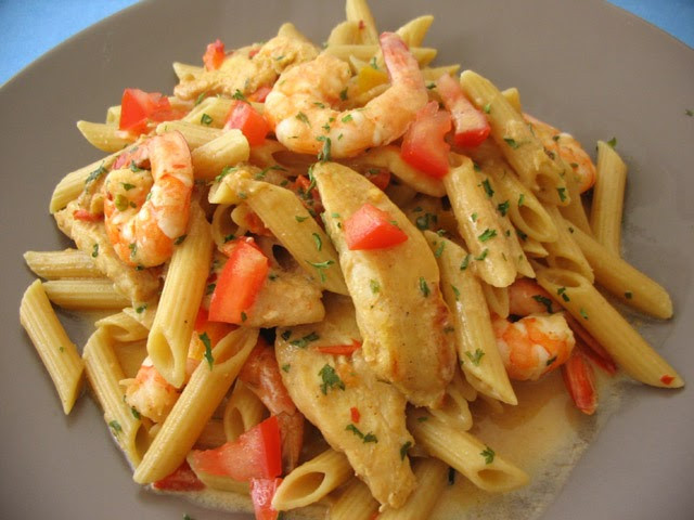 Cajun Chicken And Shrimp Pasta  My Kitchen Snippets Cajun Chicken and Shrimp Pasta