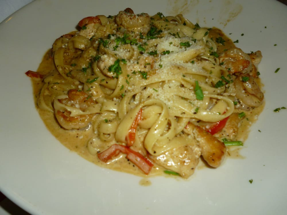 Cajun Chicken And Shrimp Pasta  Cajun Shrimp & Chicken Pasta Yelp